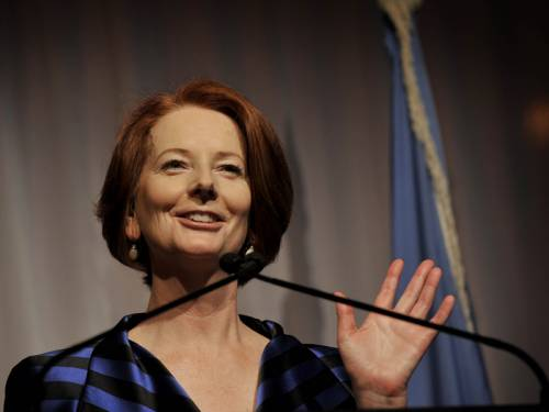 PM Julia Gillard has appointed new heads of the departments of immigration and agriculture. (AAP)